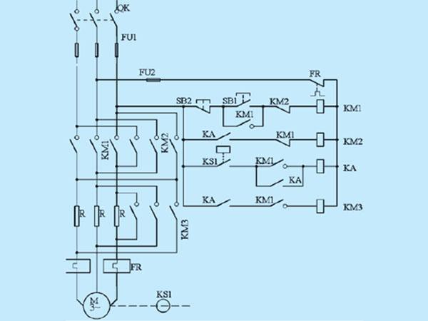 9.子串电阻降压启动